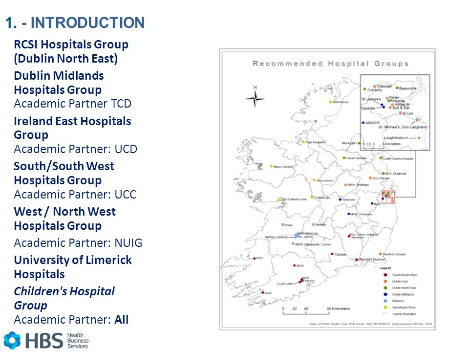 Map Of Ireland Hospitals.Health Business Services Business Success With Hse Ppt Download
