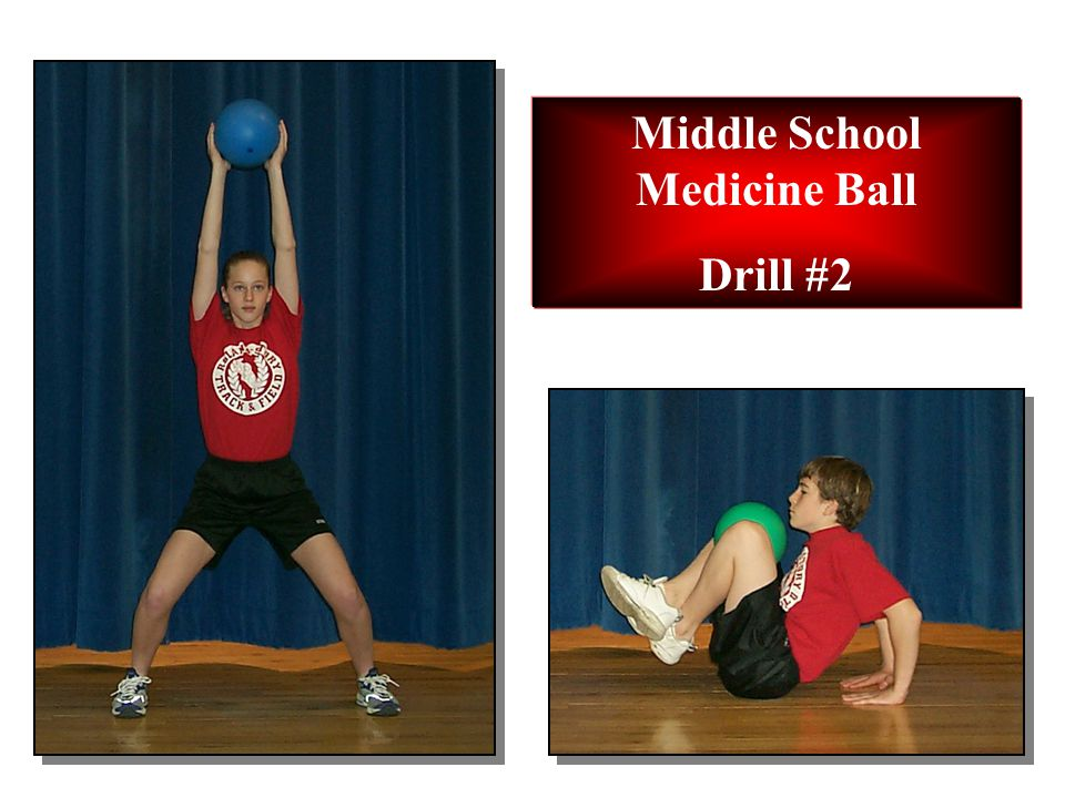 Middle School Medicine Ball Drill #2