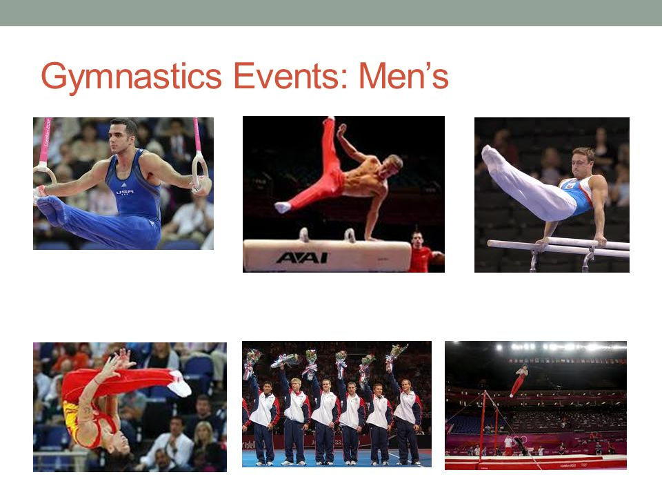 Gymnastics Events: Men's