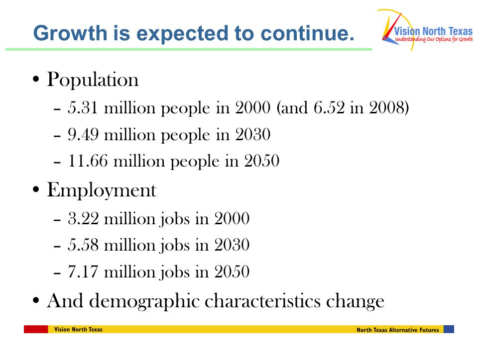 Growth is expected to continue.