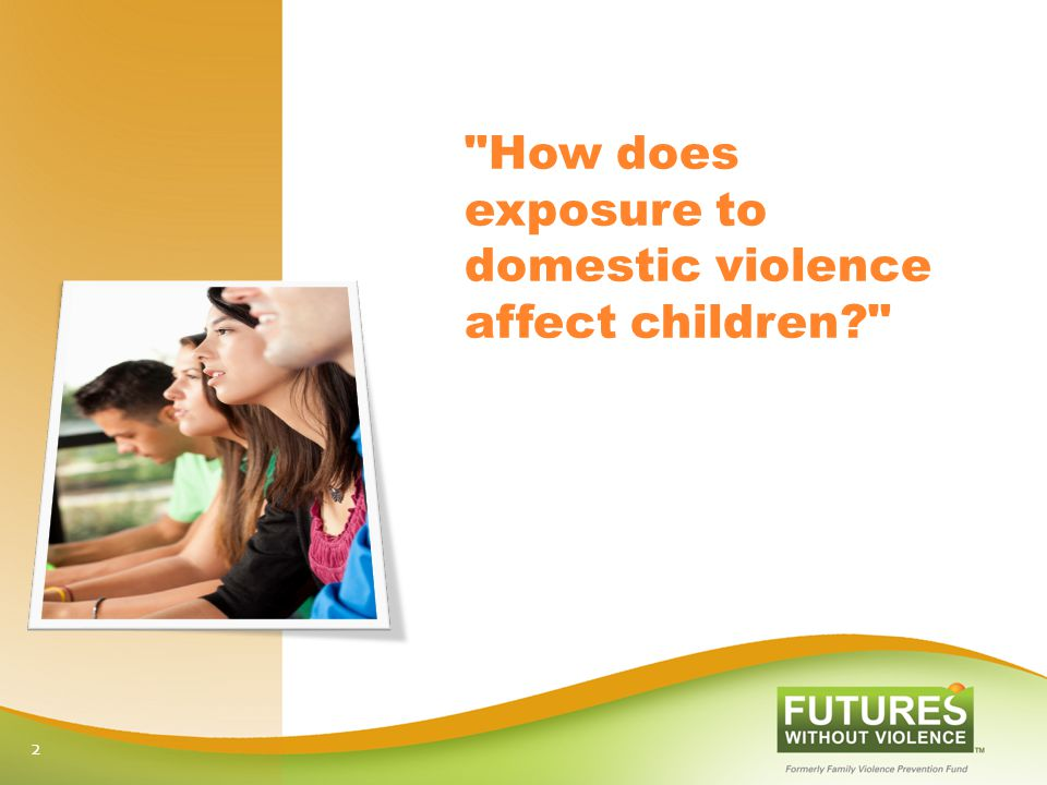 How does exposure to domestic violence affect children 2