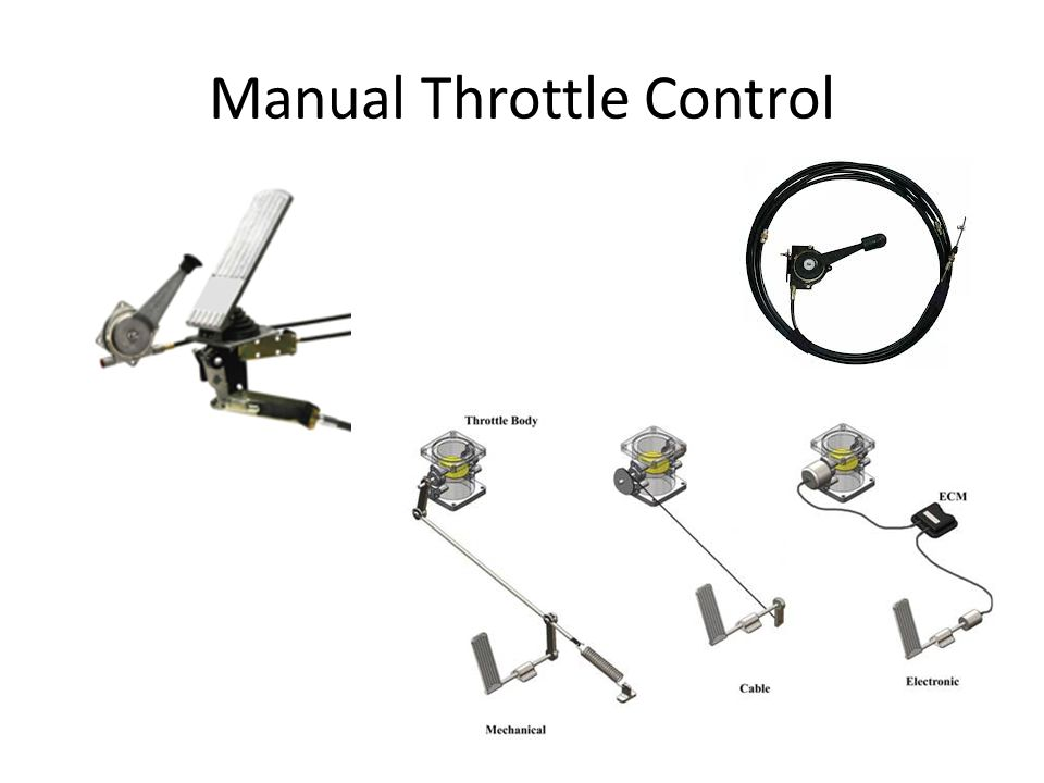 Manual Throttle Control