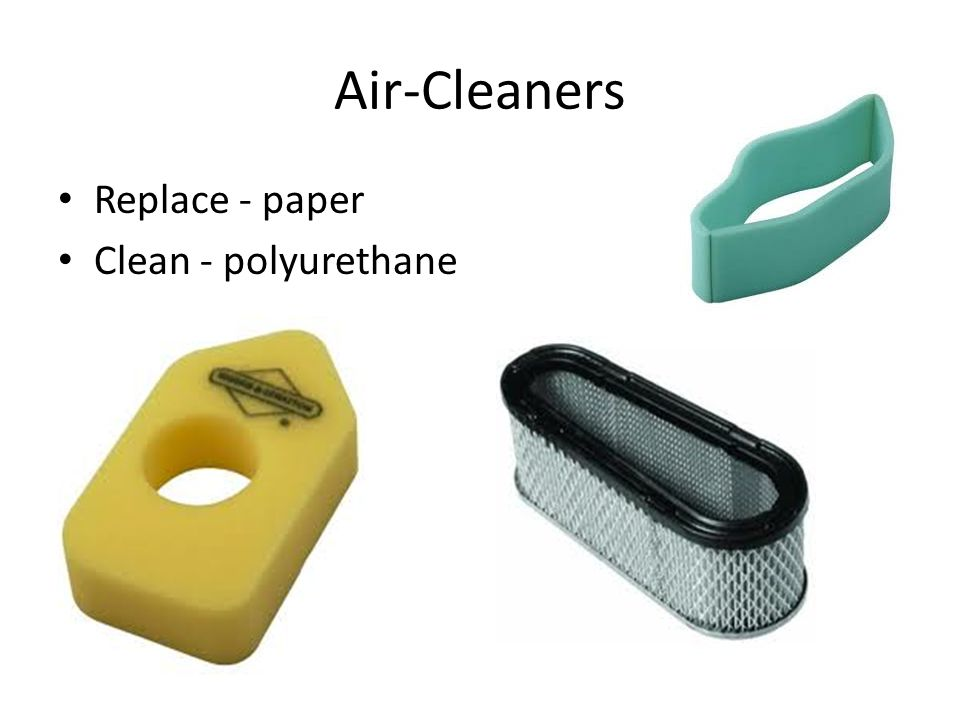 Air-Cleaners Replace - paper Clean - polyurethane