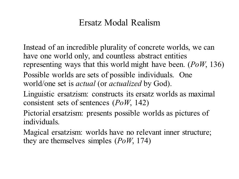 david lewis modal realism