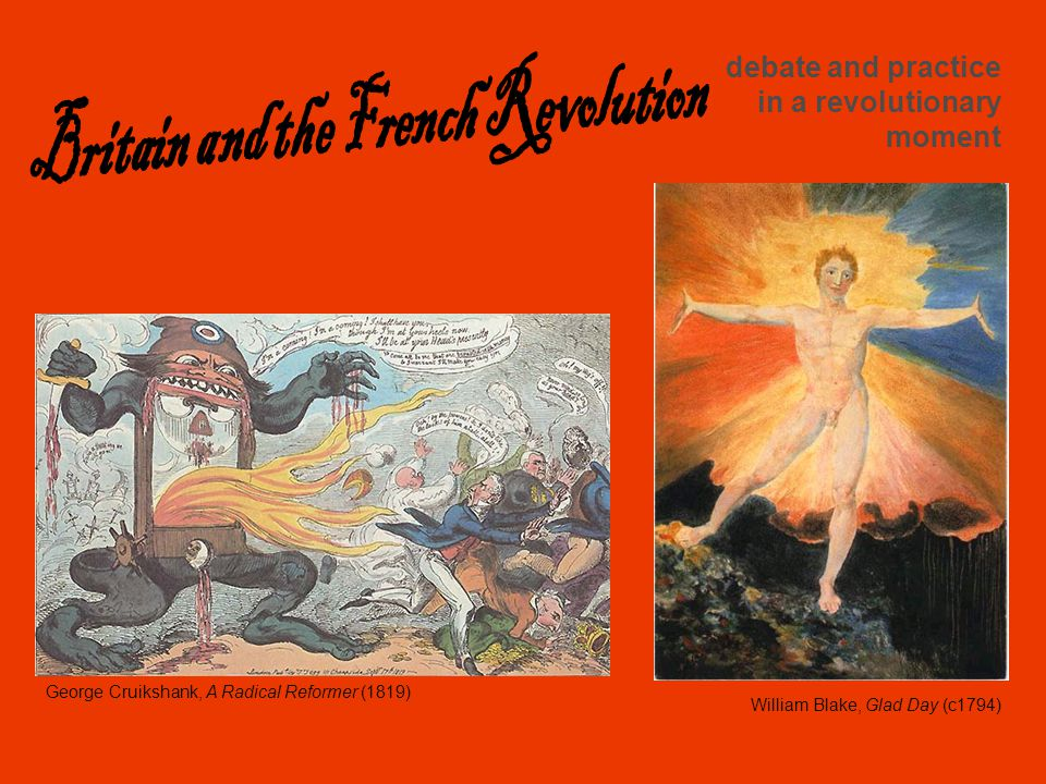william blake the french revolution