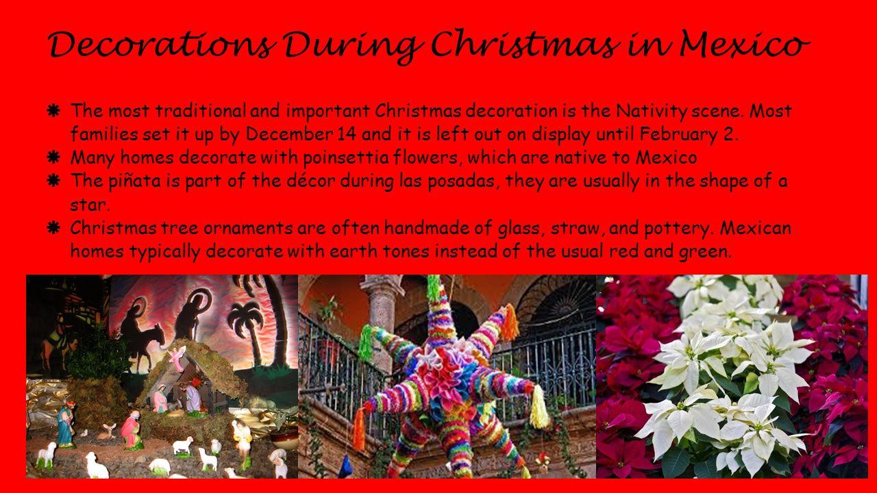 Feliz Navidad Christmas In Mexico By Carolina Vergara Ppt Download