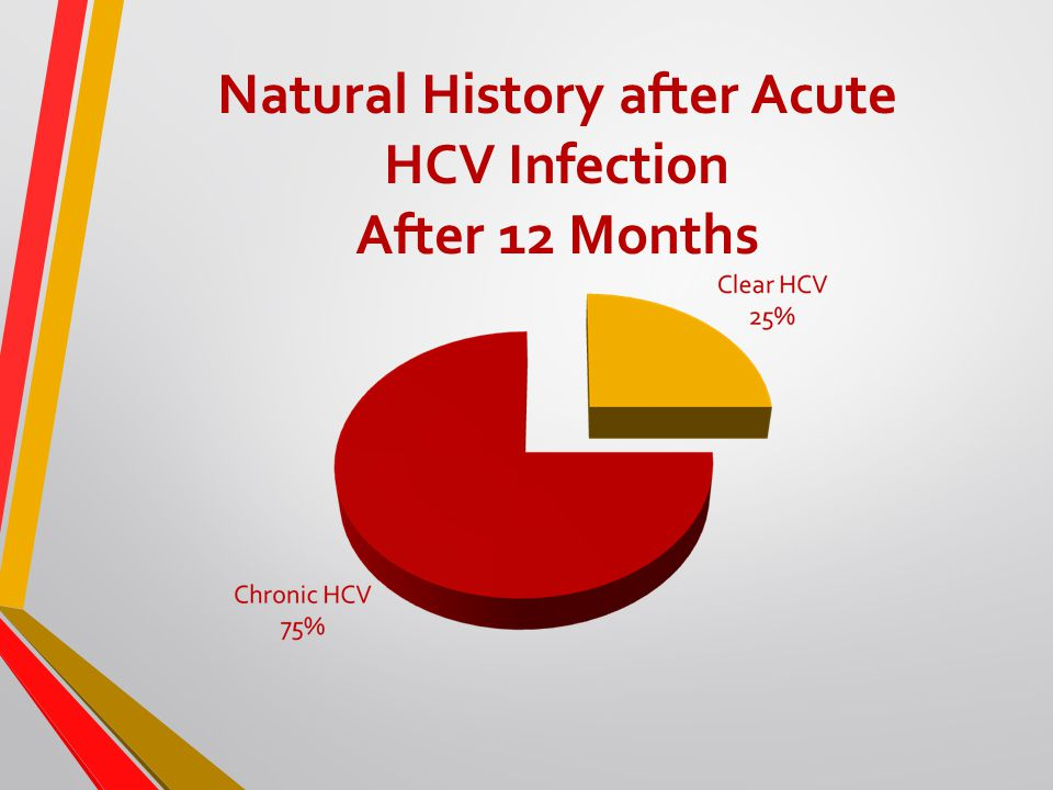 Natural History after Acute HCV Infection After 12 Months