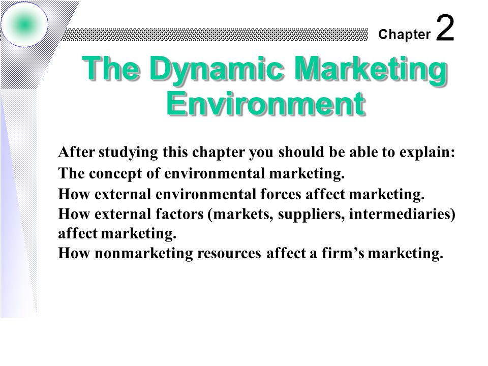 concept of marketing environment