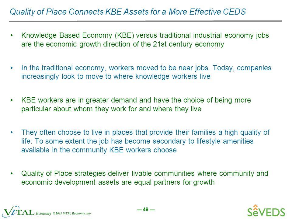knowledge based economy versus traditional economy