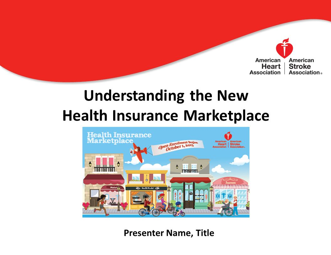 Understanding the New Health Insurance Marketplace 0 Presenter Name, Title