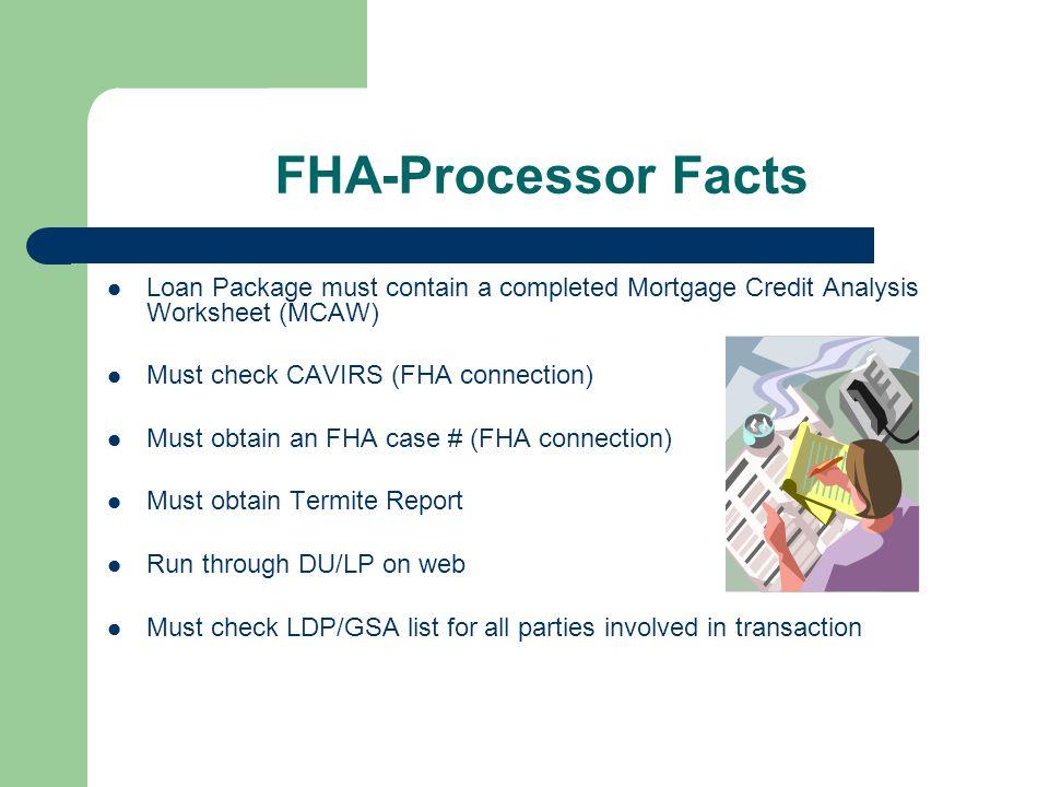 "FHA Loans ""Back to the Future"" Note: Virtually all single ..."