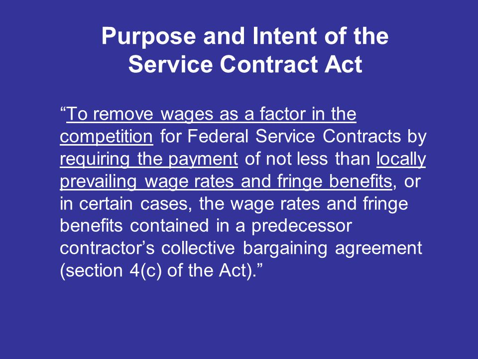 contract federal labor standards talmage r reynolds dir contractor