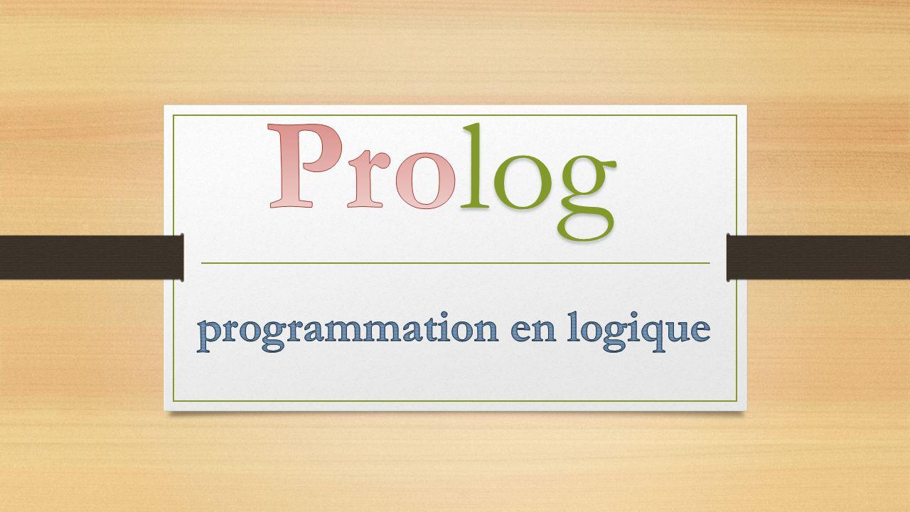 About Prolog History Symbolic Programming Language Logic