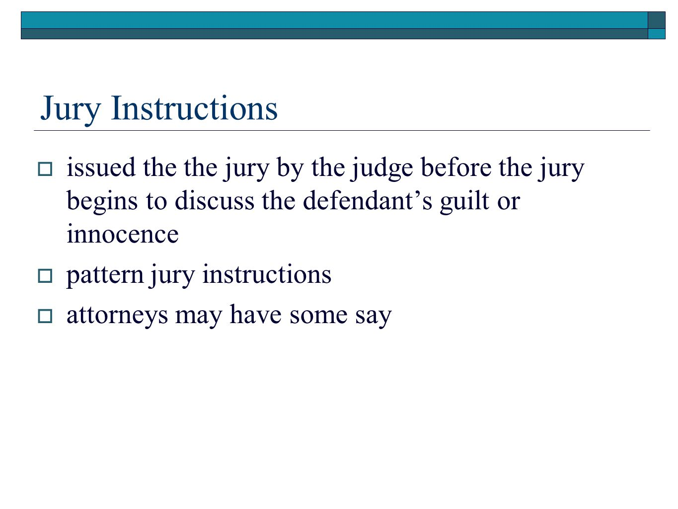 Chapter 13 The Courtroom The Pretrial And Trial Process Ppt Download