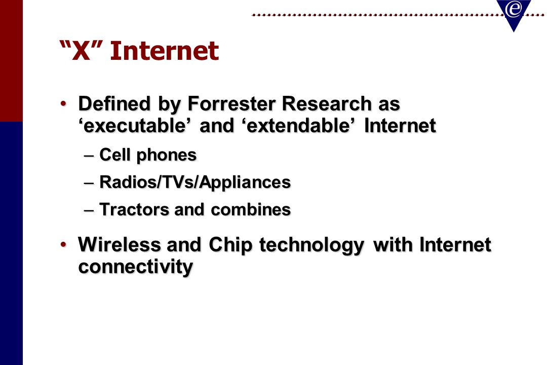 X Internet: The Executable and Extendable Internet