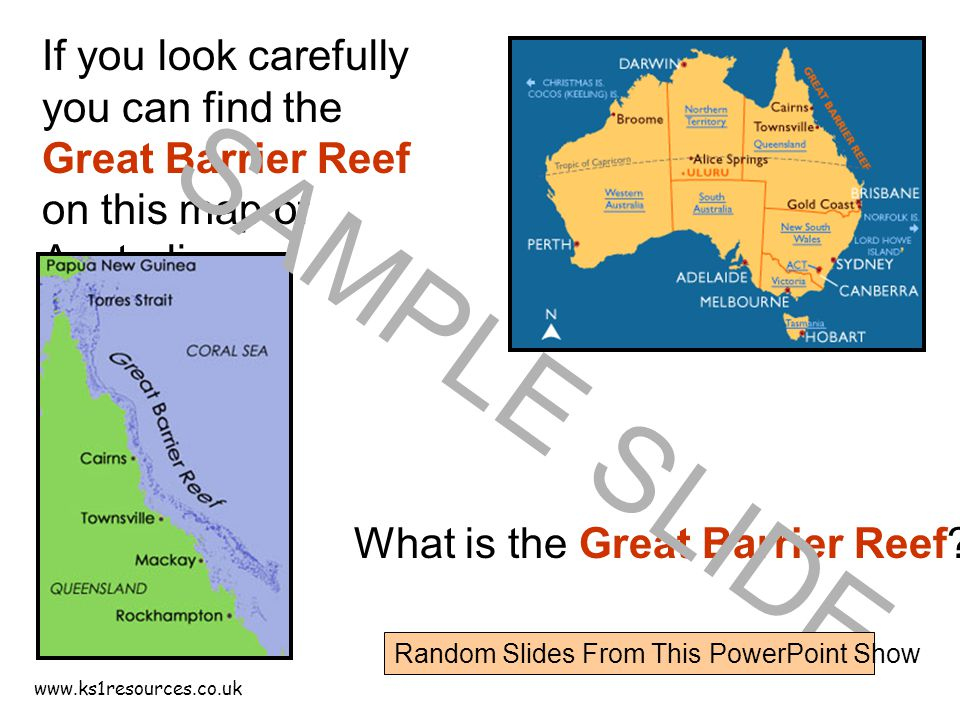 What Does Australia Look Like On A Map.If You Look Carefully You Can Find The Great Barrier Reef On This