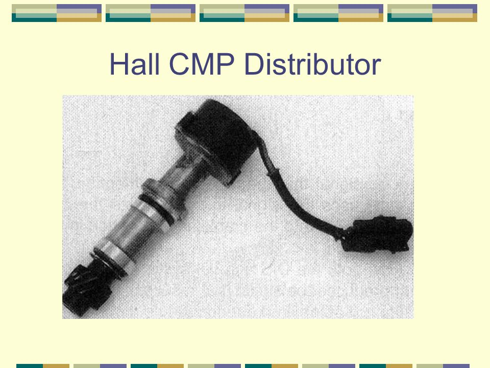 Hall CMP Distributor