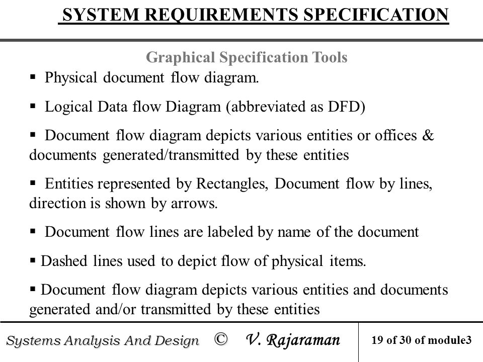 Systems Analysis And Design C Systems Analysis And Design C V Rajaraman Contents Module 3 Information Gathering 3 1 Strategy To Gather Information Ppt Download