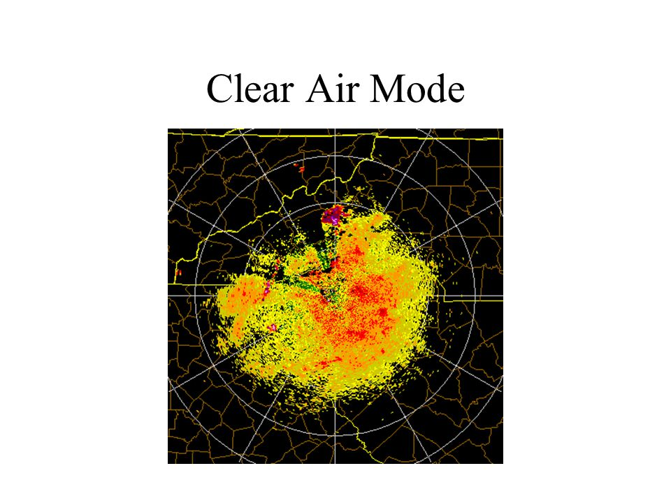 Clear Air Mode