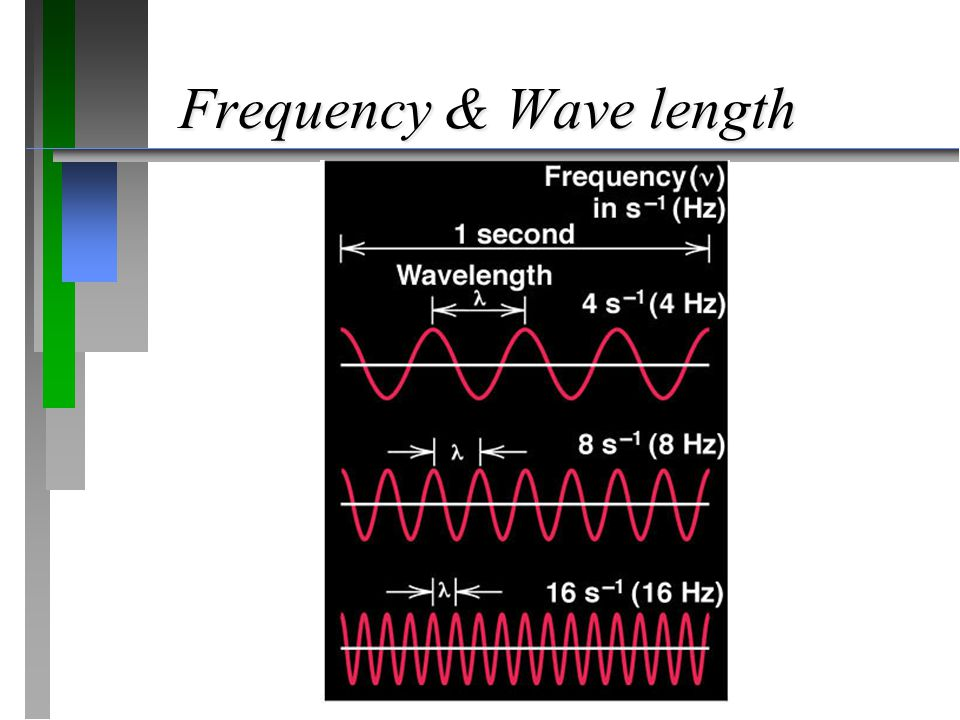 Frequency & Wave length