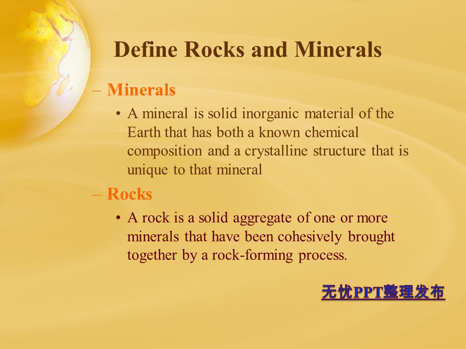 Identifying Rocks And Minerals 6 Th Grade Earth Science Mr White Ppt Download