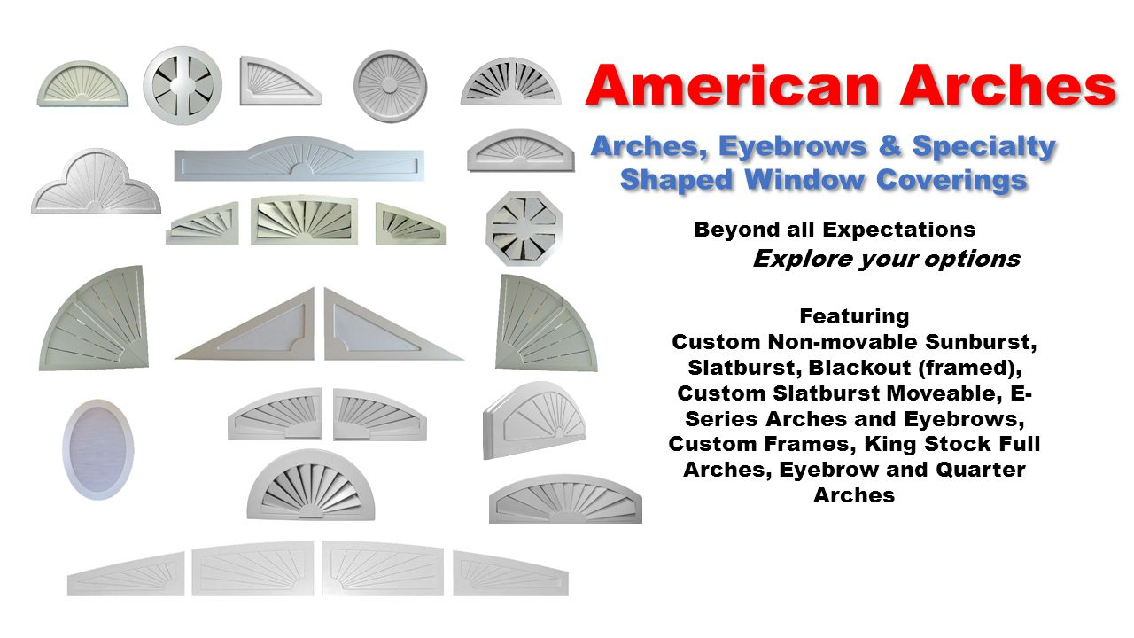 American Arches Americas Premium Custom Stock Arch Manufacturer