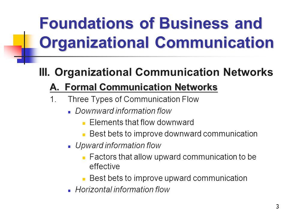 upward and downward communication in an organization