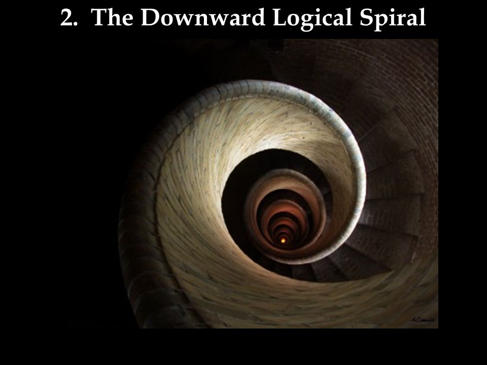 2. The Downward Logical Spiral
