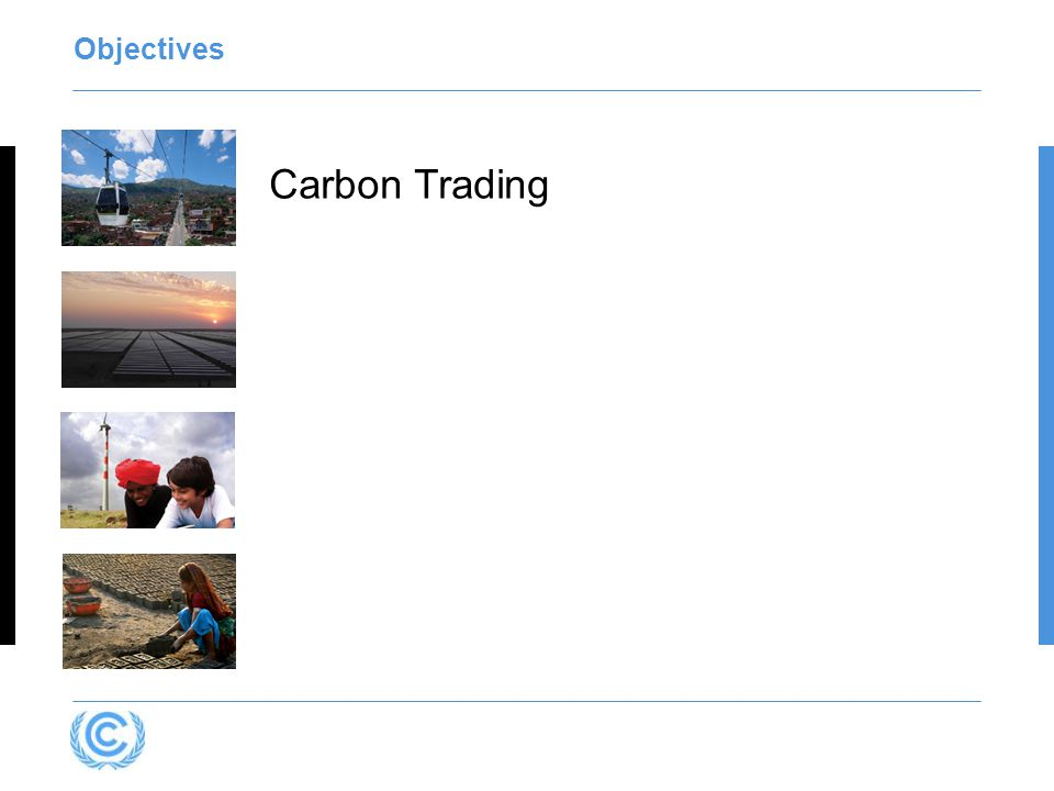 Objectives Carbon Trading