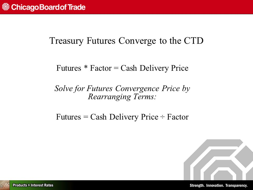 Trading Cbot Us Treasury Futures The Long Short Of It