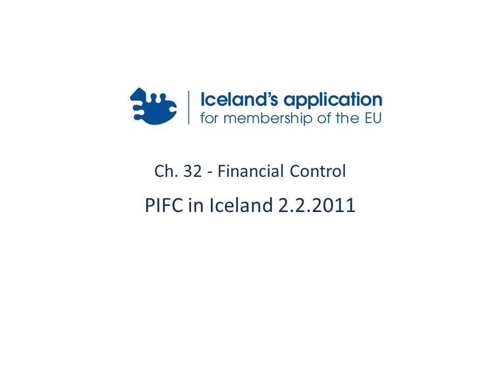 Ch Financial Control PIFC in Iceland