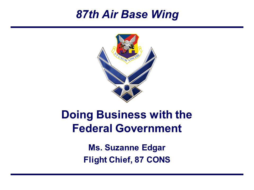 87th Air Base Wing Ms.