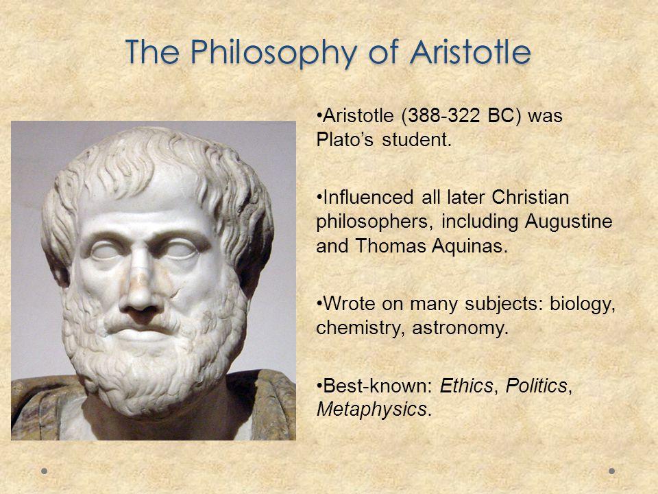 aristotle and st thomas aquinas