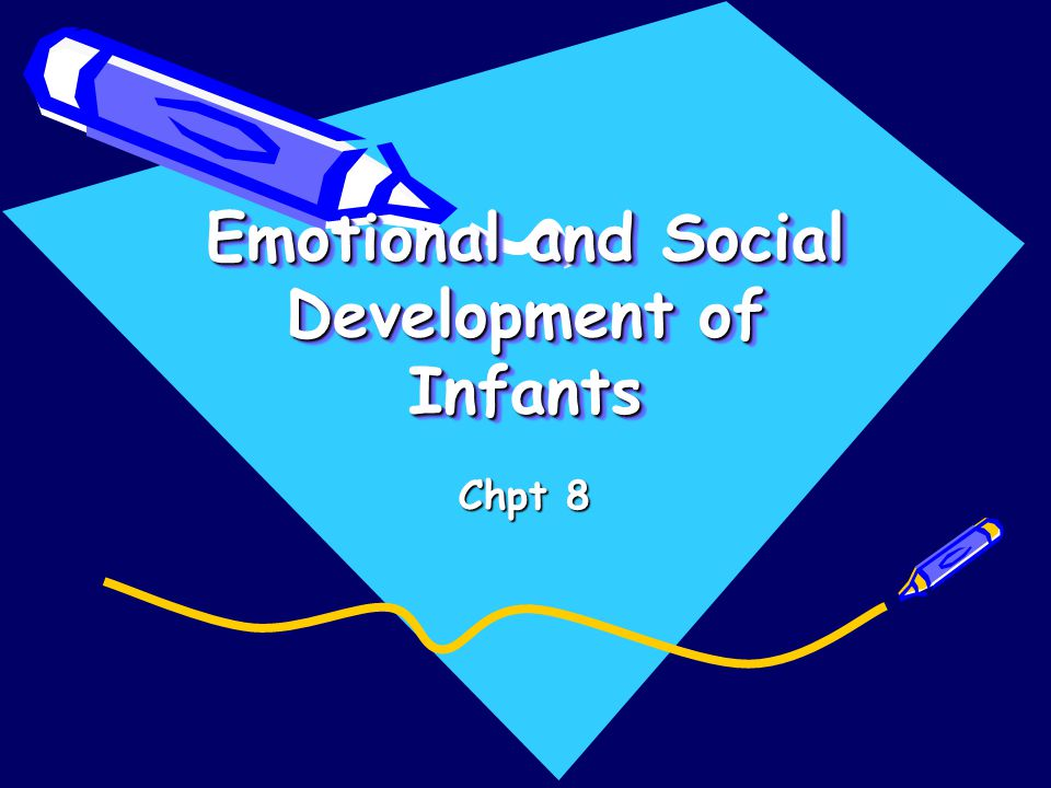 Emotional and Social Development of Infants Chpt 8