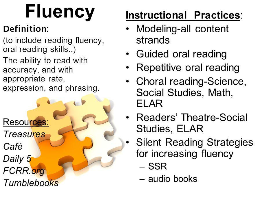 Oral reading fluency strategies photos 643