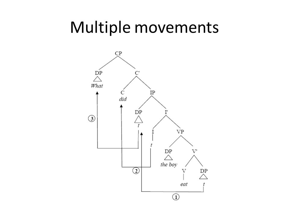 Multiple movements