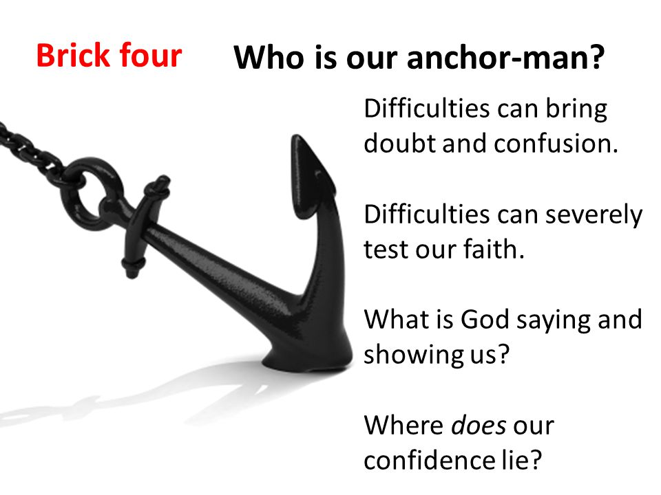 Difficulties can bring doubt and confusion. Difficulties can severely test our faith.