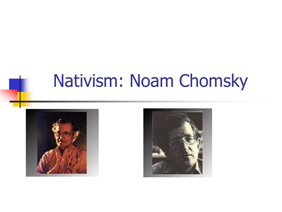 Short English Essays  Nativism Noam Chomsky General Paper Essay also High School Personal Statement Essay Examples Nativism Noam Chomsky John Locke    Essay Concerning Human  English Essay Outline Format
