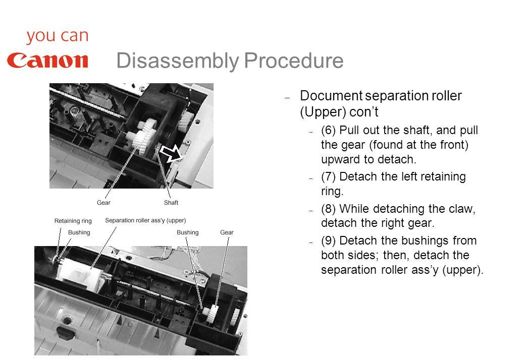 L2000 Technical Training 6  Assemble/Disassemble  - ppt download