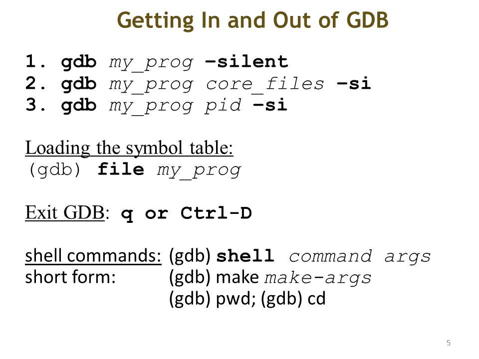 Debugging With Gdb David Khosid Sept 6 Ppt Download