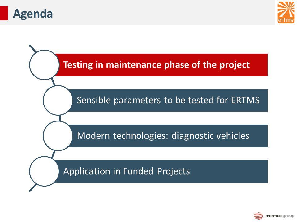 Modern testing methodologies and their added values Vito CALIANDRO