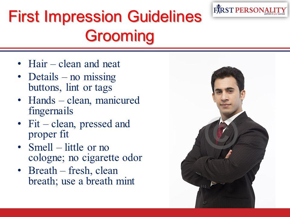 proper grooming for men