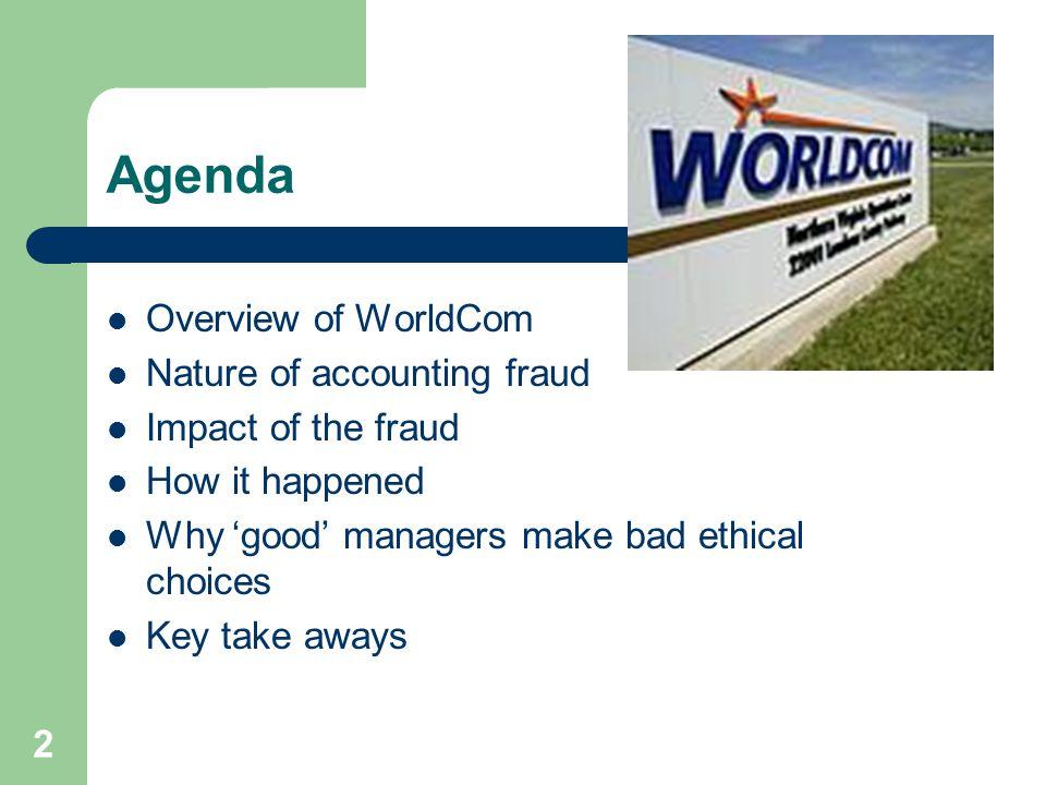worldcom fraud