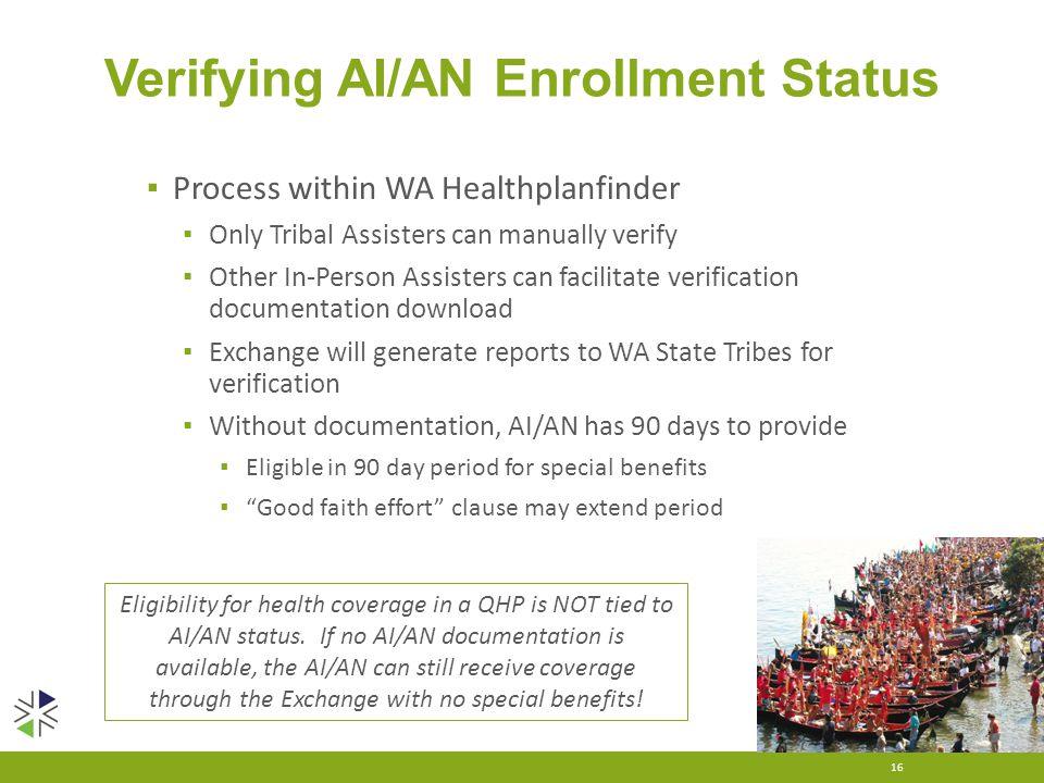 Washington Health Benefit Exchange Serving American Indians