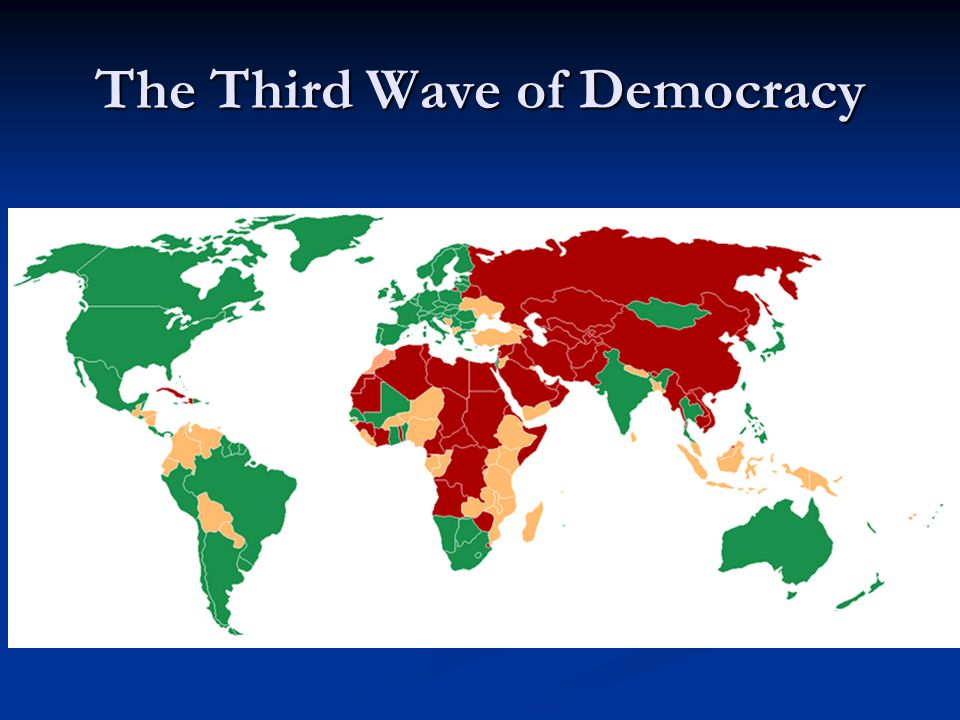 The Third Wave of Democracy