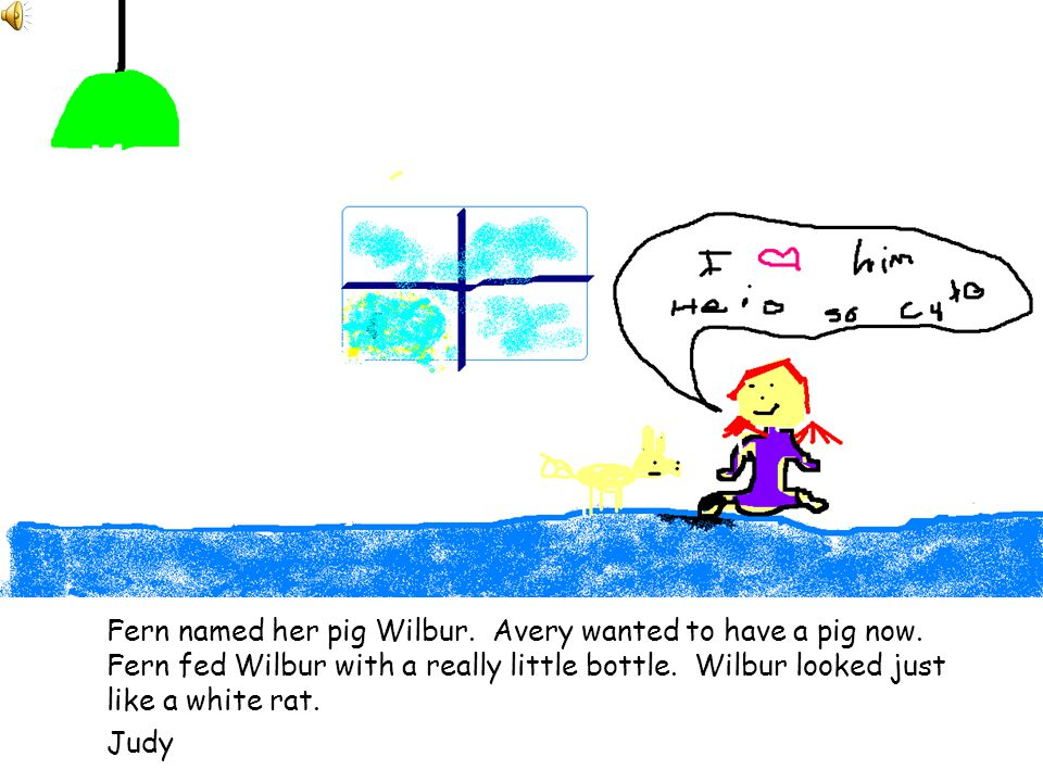 Mr. Arable wants to kill Wilbur. But Fern keeps her father from killing him.