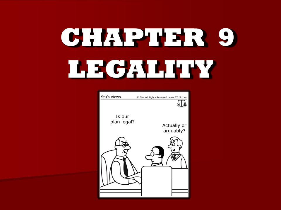 Legalitylegality