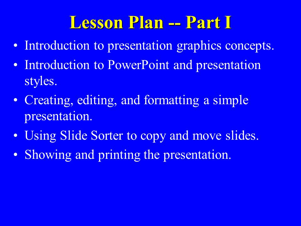 SoNHS - Informatics Essentials for the CPE Workshop PowerPoint Concepts Instructor - Bill Doyle