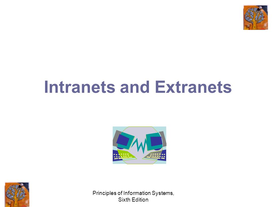 Principles of Information Systems, Sixth Edition Intranets and Extranets