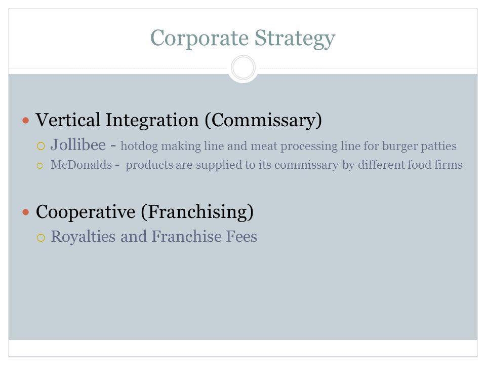 jollibee strategic management